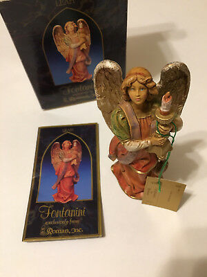 "5"" Fontanini Nativity LEAH ANGEL Of LIGHT - Symbol of Membership 1997 - Ret 1998"