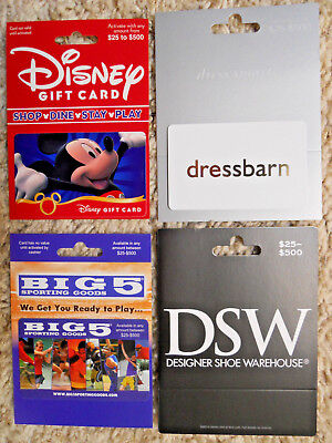 Gift Cards, Collectible, unused, new,  with backing, no value on the cards  (XN)