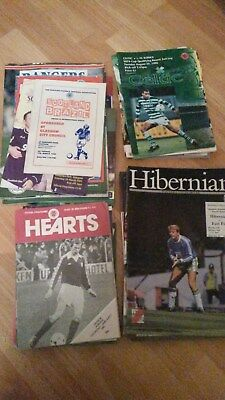 50 Scottish Football Programmes (Some European Fixtures)