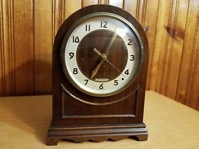 Large Antique Seth Thomas Mantle Clock - Battery Powered