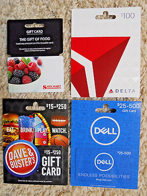 Collectible Gift Cards, new, unused, with card backing, no value on cards  (XR)