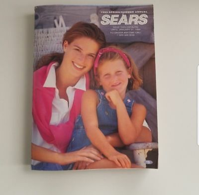 Vintage Sears 1993 Spring Summer Annual Catalog Collectible 1555 Pages Toys Rare