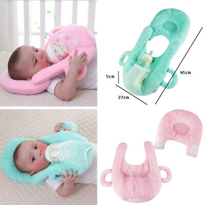 Infant Baby Nursing Cushion Anti Roll Prevent Flat Head Cushion Sleep Pillow