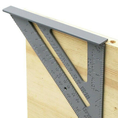 90 Degree Zinc Alloy Right Angle Corner Clamp Measure Try Square Ruler YU