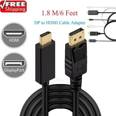 Mini Displayport To HDMI 6 ft Thunderbolt Cable For Apple iMAC Macbook Air Pro
