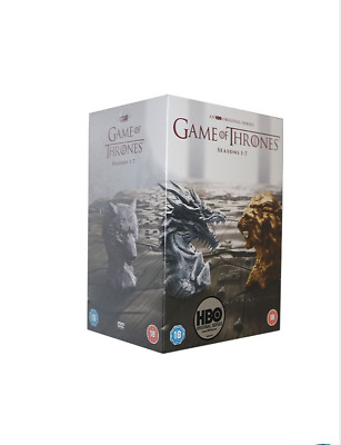 GAME OF THRONES COMPLETE SERIES SEASONS 1-7 (DVD 34-Disc)