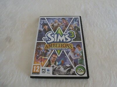 SIMS 3 Ambitions EXPANSION PACK for PC