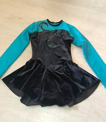 Girls ice skating dress - age  8-10