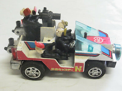 Bandai Popy Kommandowagen Capter N-Captor mit 5 FigurenMade in Japan bespielt LA