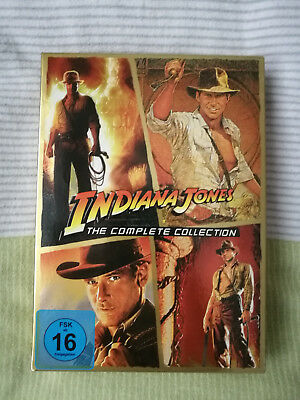 Indiana Jones The Complete Collection 1-4 DVD Box/Sammelschuber