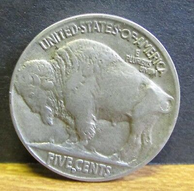 1916 Mint Mark D USA United States of America Buffalo 5 Cents Indian Head Coin