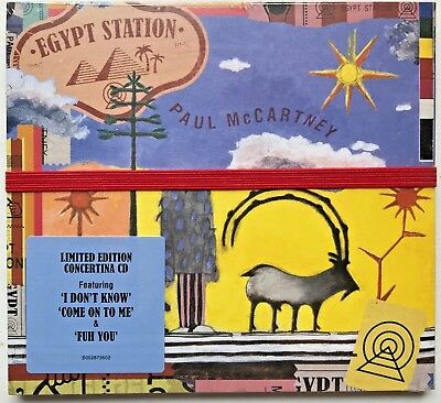 Egypt Station [9/7] by Paul McCartney (CD, Sep-2018, Capitol) Limited Edition