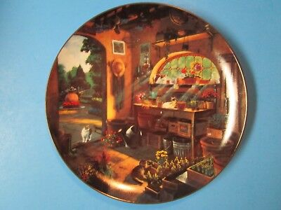 "Bradford Exchange ""Afternoon Serenity"" Collectible Plate 1996"