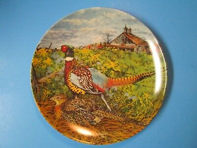 "Edwin M. Knowles ""The Pheasant"" 1986 Collector Plate"