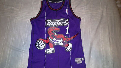 ... canada adidas swingman throwback jersey toronto raptors tracy mcgrady  sz m 3d1d4 1ebe8 7d6caafca