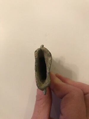 Old Hollow(lead?)Purse, Metal Detector Find