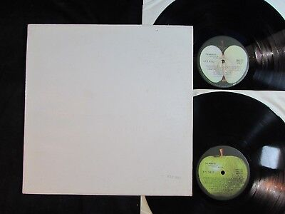 THE BEATLES White Album US ORIGINAL 2-LP SWBO-101 #0231001