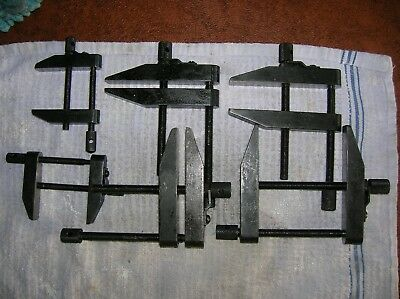 Machinist Parallel Clamps, Lot of (6) Clamps.General USA 118-B