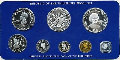 Philippines  1979 8 Coin Proof Set, Year of the Child, Low mintage. No Reserve!