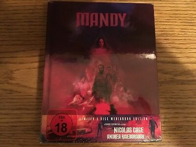 Mandy 3-Disc Blu-ray+DVD Mediabook Region B/2 Germany New & Factory Sealed!