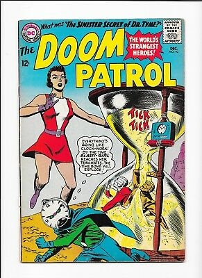 Doom Patrol #92 1ST APPEARANCE of. DR. TYME! Silver Age NICE COPY!!! DC 1964