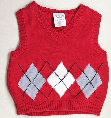 ae415fcd6 6 MONTH BABY boy carters gray sweater vest NWT! -  7.99