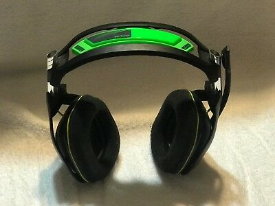 Gen 2 ASTRO A50 Wireless Headset for Xbox One - Black/Green