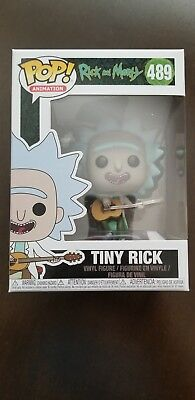 Funko POP! Rick and Morty Tiny Rick With Guitar #489 Boxlunch Exclusive