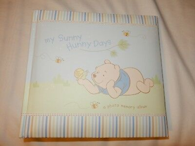 """Winnie the Pooh """"My Sunny Hunny Days"""" Photo Memory Picture Photo Album, new"""