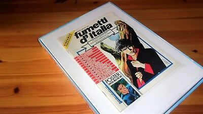 FUMETTI D'ITALIA anno 1° 1992 n. 1 - Dylan Dog, poster centrale Mister No