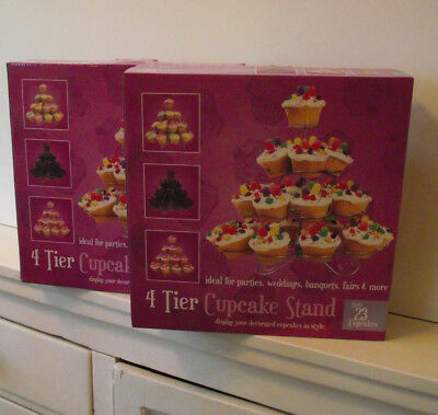 Cupcake tier stands x 2