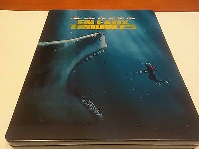 "En eaux troubles ""THE MEG"" Blu-ray 3D + steelbook voir photos"