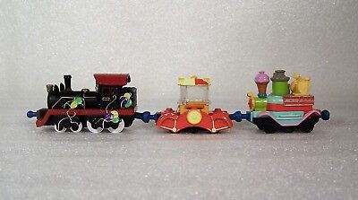 Chuggington Die Cast Metal Train Birthday Party Old Puffer Pete, Popcorn 3 Lot