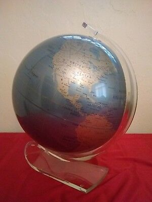 "Replogle 12"" Diamond Marquise World Globe."