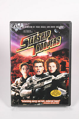 Starship Troopers DVD ( Widescreen) Combined Shipping Deal Available!