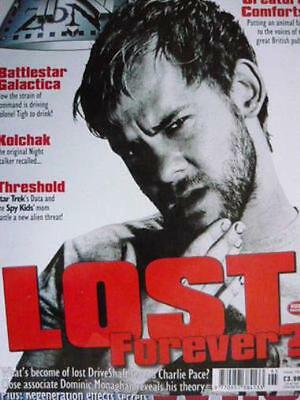 Tv Zone #195 - Lost - Charlie - Dominic Monaghan + Free Promo Card