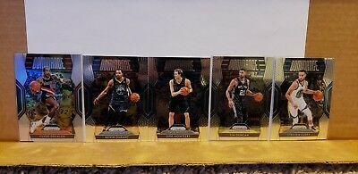51 Card Lot 2018-19 Prizm Basketball Vet Insert Hall Monitor Dominance Get Hyped