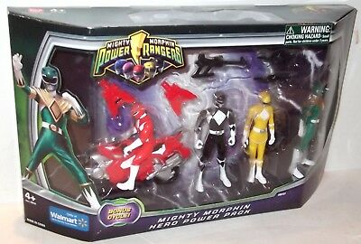 Power Rangers MMPR 2010 Mighty Morphin Pack figure SET SEALED MIB - packed well