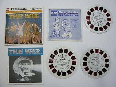 viewmaster The Wiz J14 1978