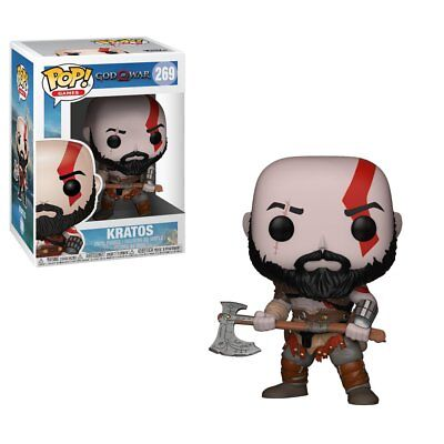 Funko Toys PoP video Games God of War KRATOS with Axe 4in. Figure #269