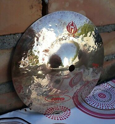 """Diril Cymbals, Copper series, 8"""" splash cymbal, FREE SHIPPING"""