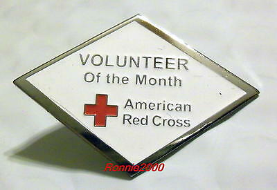 VOLUNTEER OF THE MONTH  American Red Cross pin