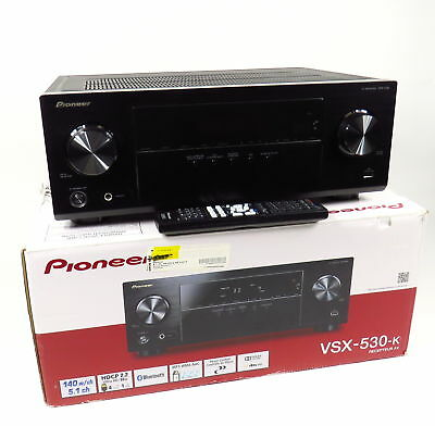 PIONEER VSX-530-K 5.1 CHANNEL 4K ULTRA HD BLUETOOTH DOLBY AV RECEIVER with BOX