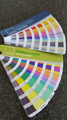 PANTONE Formula Guide SOLID Coated & Uncoated *NO FADING*