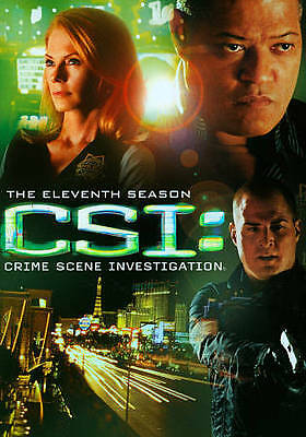 CSI Crime Scene Investigation ~ Complete Eleventh Season 11 ~ NEW 6-DISC DVD SET
