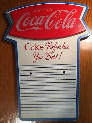 Coca-Cola Wooden  Calendar Pad Holder