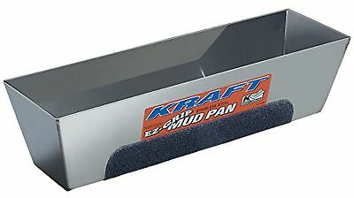 Kraft Tool DW724 EZ-Grip Mud Pan, 14-Inch x 3-Inch