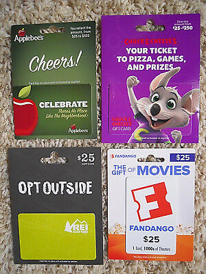 Gift Cards, Collectible, new, unused cards with backing, no value on cards  (QM)