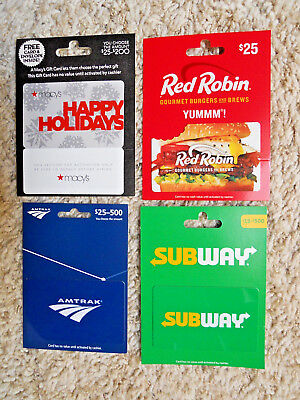 Collectible Gift Cards, unused, new, with backing, no value on cards      (VY)