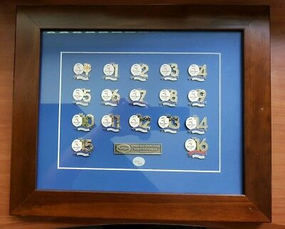 Sydney 2000 Olympic Days Of The Games Set Frame 17 Pins